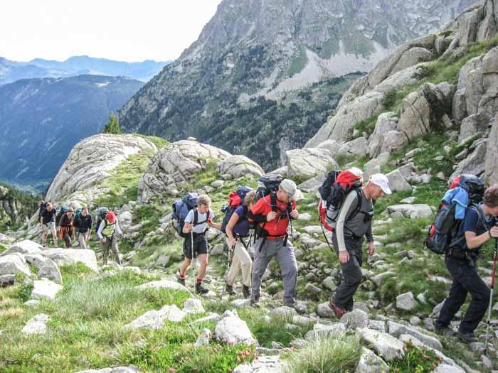 Huttentocht Pyreneeën (kort)