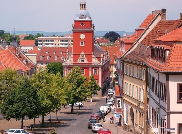 Fietstrektocht Thüringen