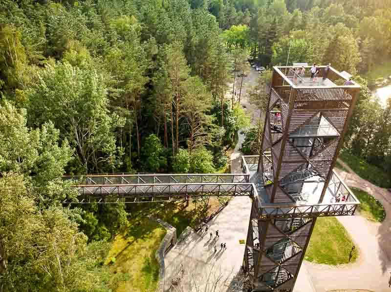 Baltische Staten kampeertrektocht