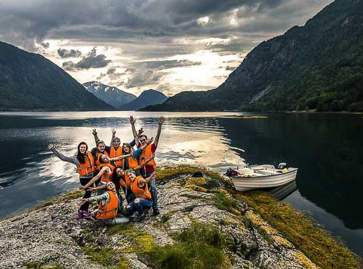 Noorwegen wildkamperen jong christelijke vakanties 11