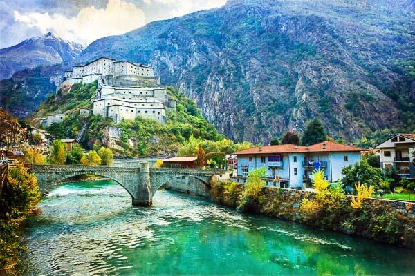 Aosta Italië Christelijke groepsreis Amarant