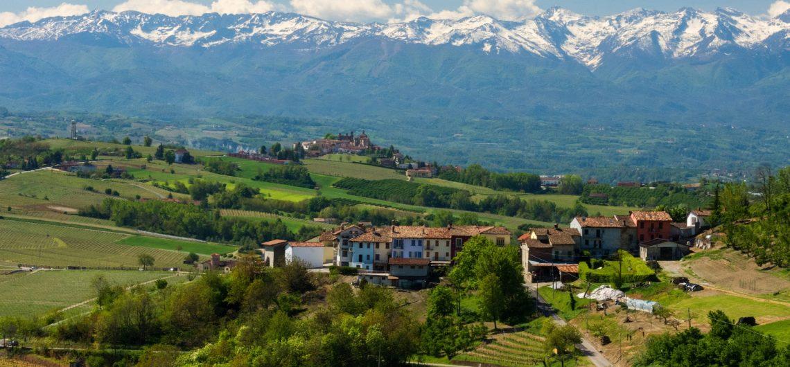 piemonte dorpje